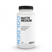 Golden : Matte Medium : 473ml