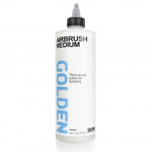 Golden : Airbrush Medium : 473ml