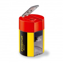 Staedtler : Pencil Sharpener : Yellow Black & Red
