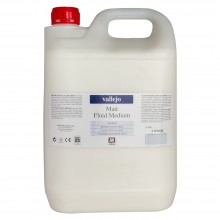 Vallejo : Acrylic Fluid Matt Medium : 5000ml