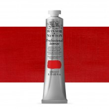 Winsor & Newton : Professional : Acrylic Paint : 200ml : Naphthol Red Light