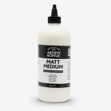 Winsor & Newton : Professional : Acrylic Medium : Matt Medium : 500ml