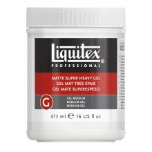Liquitex : Professional : Matt Super Heavy Gel : 473ml