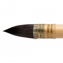 Da Vinci : Watercolour : Russian Squirrel Hair Quill Brush : Series 418 : Size 12