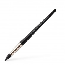 Colour Shapers : Silicone Tool : Black : Extra Firm : Angle Chisel : Size 16