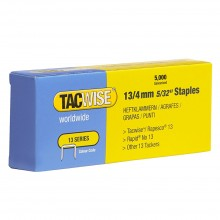 Tacwise : 13 Series Staples : 4mm : Box of 5000