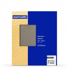 Naylor : 25 Sheets Wet & Dry Grade : 2500