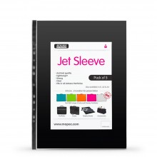 Mapac : A2 Jet Archival Portfolio Sleeve : 80 Micron : 5 Pack