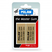 Milan : The Master Gum Eraser : Pack of 2