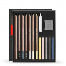 Caran d'Ache : Art By : Sketching Set of 15 : Light and Shade Colours