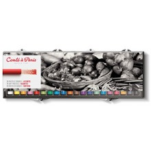Conte A Paris : Soft Pastels : Assorted Set of 20