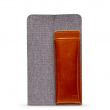 King Jim : Ittsui : Top-In Style Pen Case : Grey