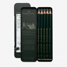 Faber Castell : Series 9000 : Jumbo Pencil : Set of 5