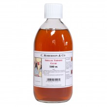 Roberson : Shellac : Dries Clear : 500ml