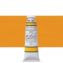 M. Graham : Artists' Oil Paint : 37ml : Cadmium Yellow Deep
