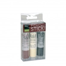 R&F : Pigment Stick Set : 19ml : Beginners Set : 3 Colours