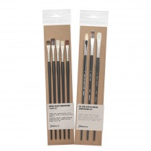 Jackson's : Oil & Acrylic Comparison Brush Sets