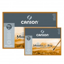 Canson : Moulin du Roy Watercolour Paper Blocks