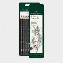 Faber Castell : Graphite Aquarelle Pencil Sets