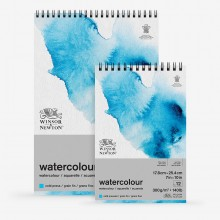 Winsor & Newton : Classic : Watercolour Paper : Spiral Pads : 300gsm : 20 Sheets : Cold Pressed