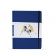 Hand Book Journal Company : Drawing Journal : 10.5x8.25in : Large Portrait : Ultramarine Blue