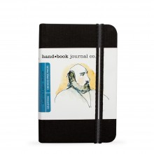 Hand Book Journal Company : Drawing Journal : 5.5x3.5in : Portrait : Ivory Black