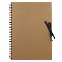Seawhite : A3 Brown Paper Display Book : 40 sheets : spiral pad