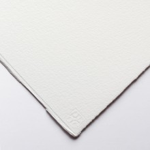 Saunders Waterford : 1/2 Sheet : 425gsm (200lb) : 10 Sheets : High White : Rough
