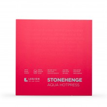 Stonehenge : Aqua Watercolour Paper Block : 140lb (300gsm) : 10x10in : Hot Pressed