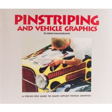 Book : Pinstriping & Vehicle Graphics : by John Hannukaine