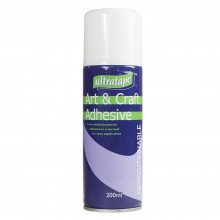 ASH : Repositionable Spray Adhesive : 200ml : Ship By Road Only