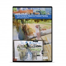 Townhouse : DVD : From Dynamic Sketch to Finished Painting : A Mixed Media Masterclass : With Chris Forsey R.I.