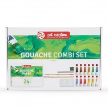 Royal Talens : Art Creation : Gouache Paint : 12ml : Combi Set of 12