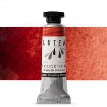 Lutea : Extra Fine Natural Watercolour Paint : 9ml : Red (Madder)