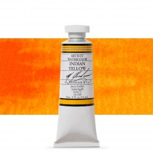 M. Graham : Artists' Watercolour Paint : 15ml : Indian Yellow