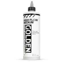 Golden : High Flow Medium (Airbrush Transparent Extender) : 473ml