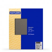 Naylor : 25 Sheets Wet & Dry Grade : 600