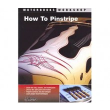 How to Pinstripe (MotorBooks Workshop) Book by Alan Johnson