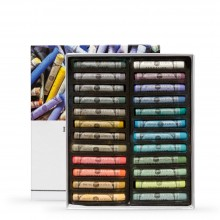 Sennelier : Soft Pastel : Full Stick : Set of 24 : Mid Tone Landscape