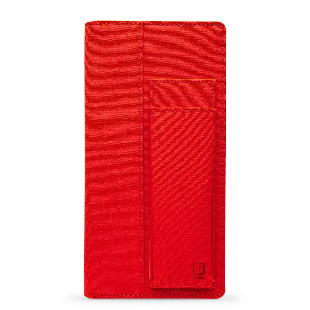 King Jim : Ittsui : Full Open Style Pen Case : Red