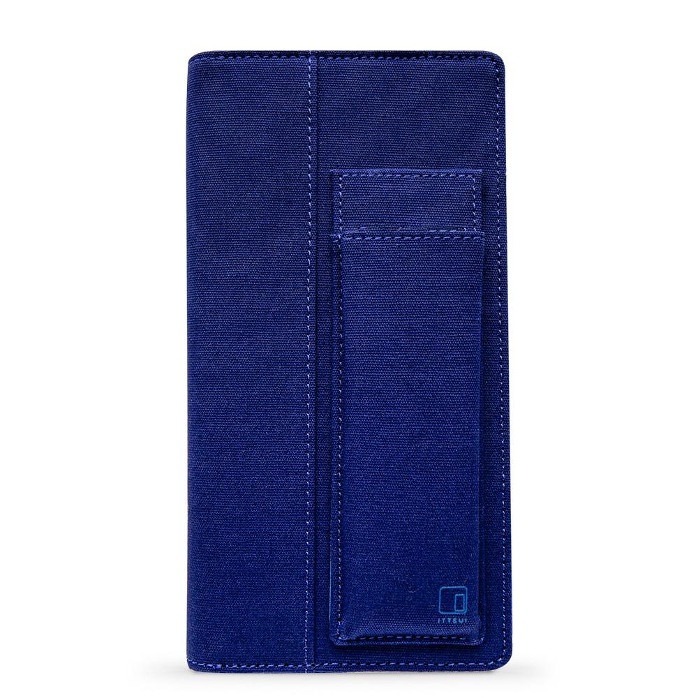 King Jim : Ittsui : Full Open Style Pen Case : Blue