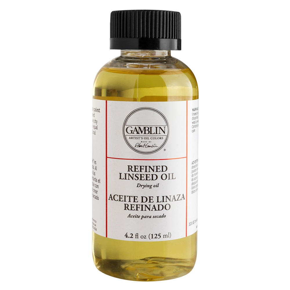 Gamblin : Refined Linseed Oil : 125ml