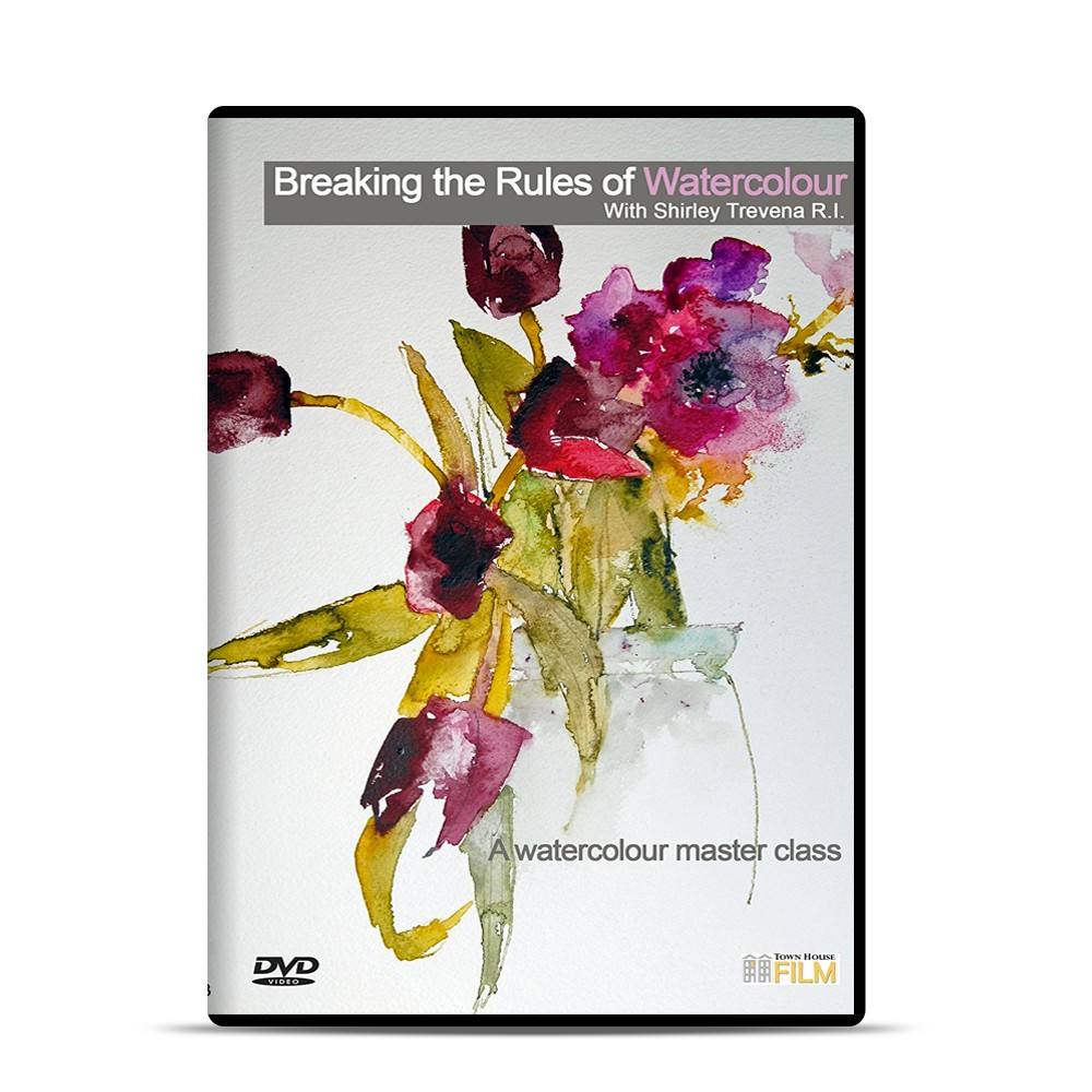 Townhouse : DVD : Breaking the Rules of Watercolour : Shirley Trevena