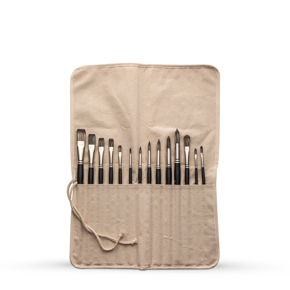 Studio Essentials : 7oz Canvas Brush Roll : 16x21.5in