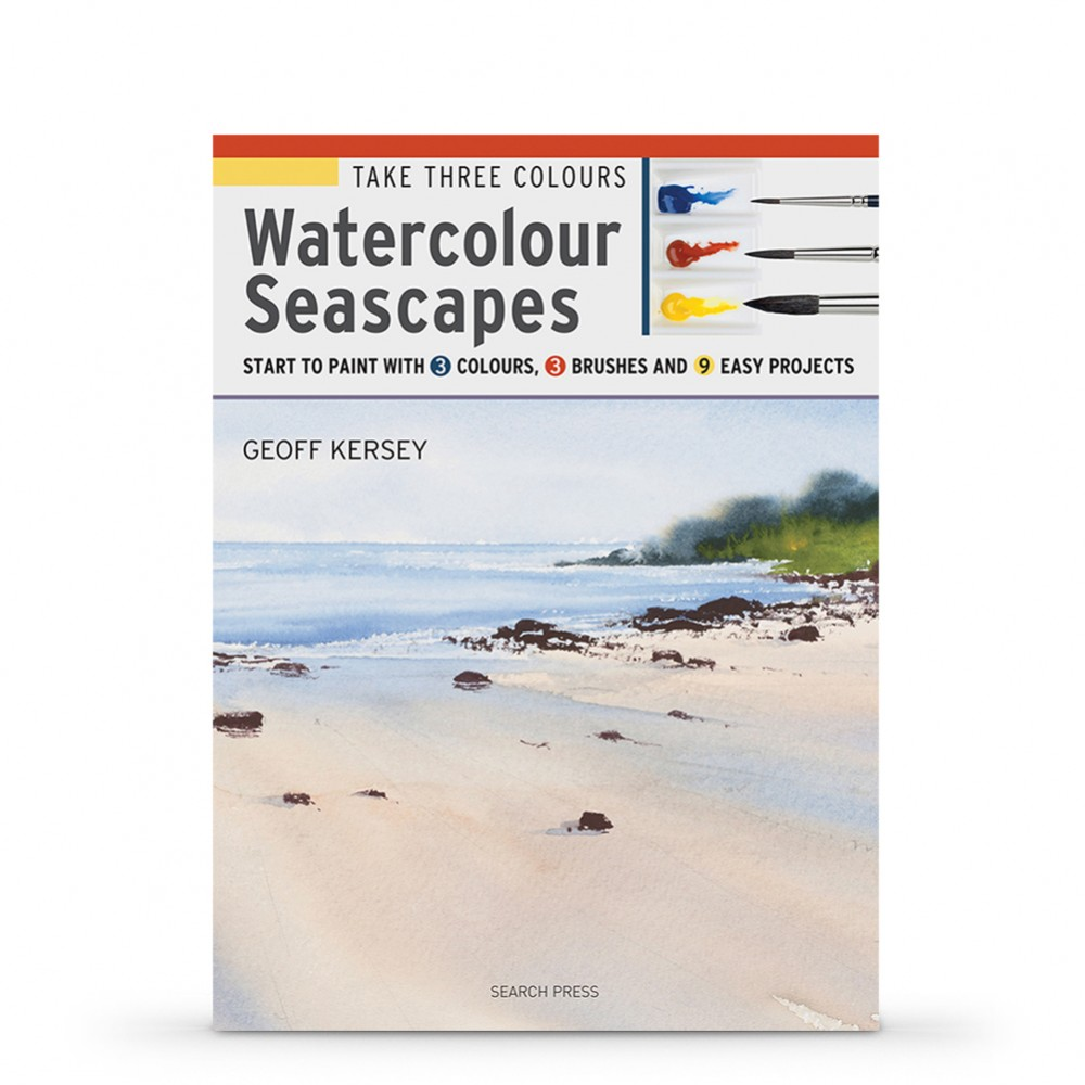 Take Three Colours: Watercolour Seascapes : Book by Geoff Kersey