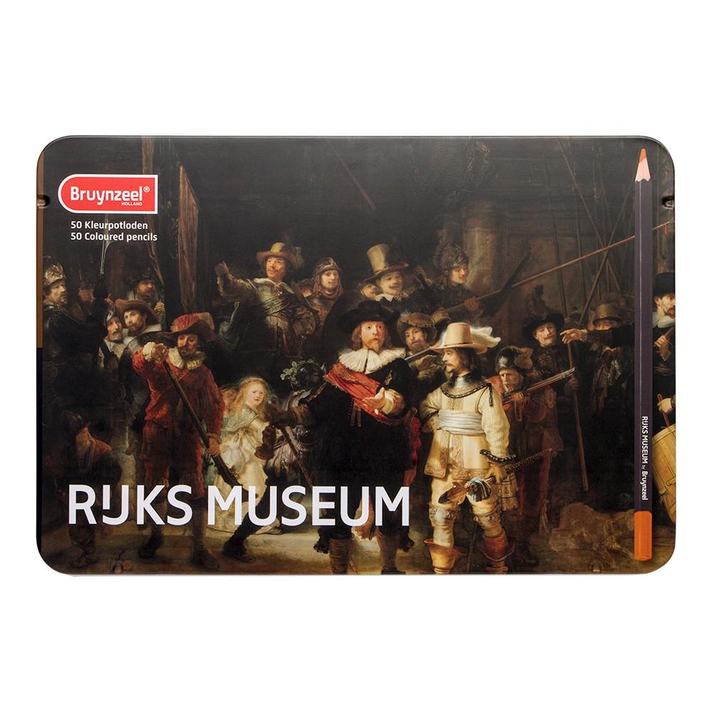 Bruynzeel : Rijksmuseum : Coloured Pencils : Set of 50