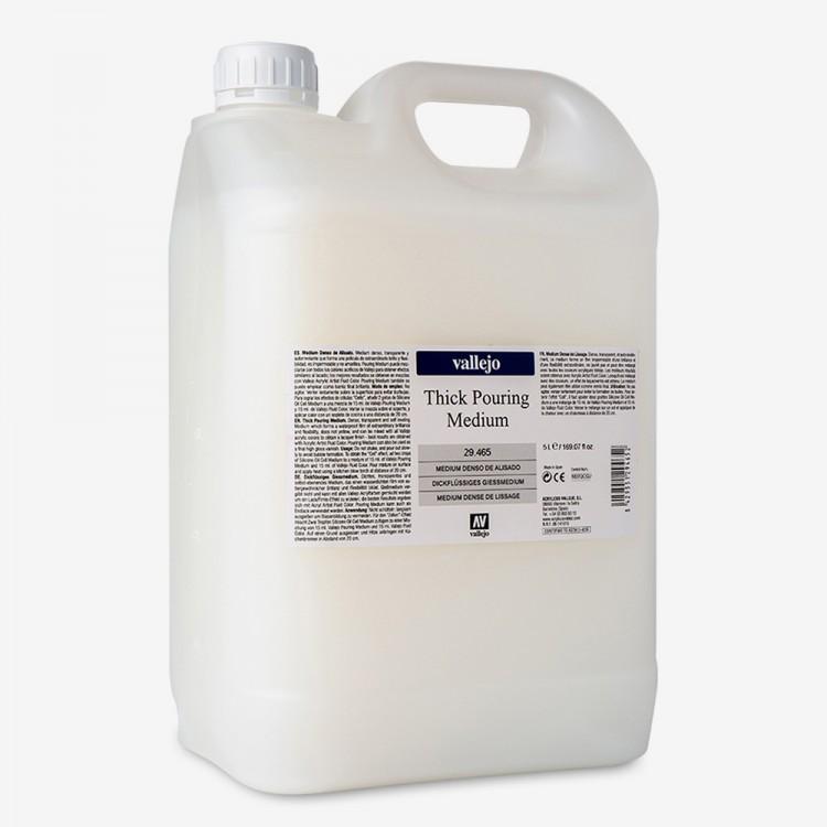 Vallejo : Thick Pouring Medium : 5000ml