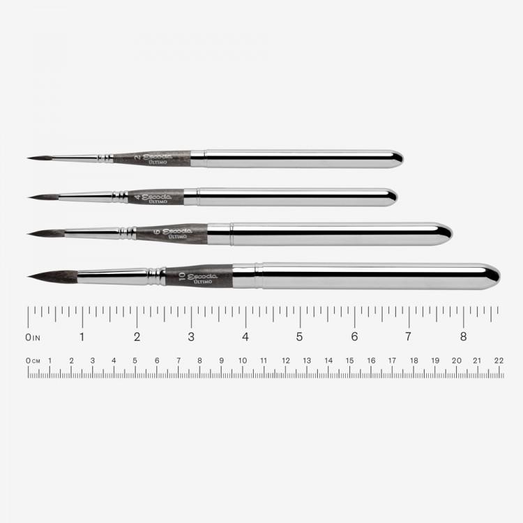 e6e9f97e3c Escoda   Ultimo   Tendo Synthetic Travel Brush   Series 1526   Round     4