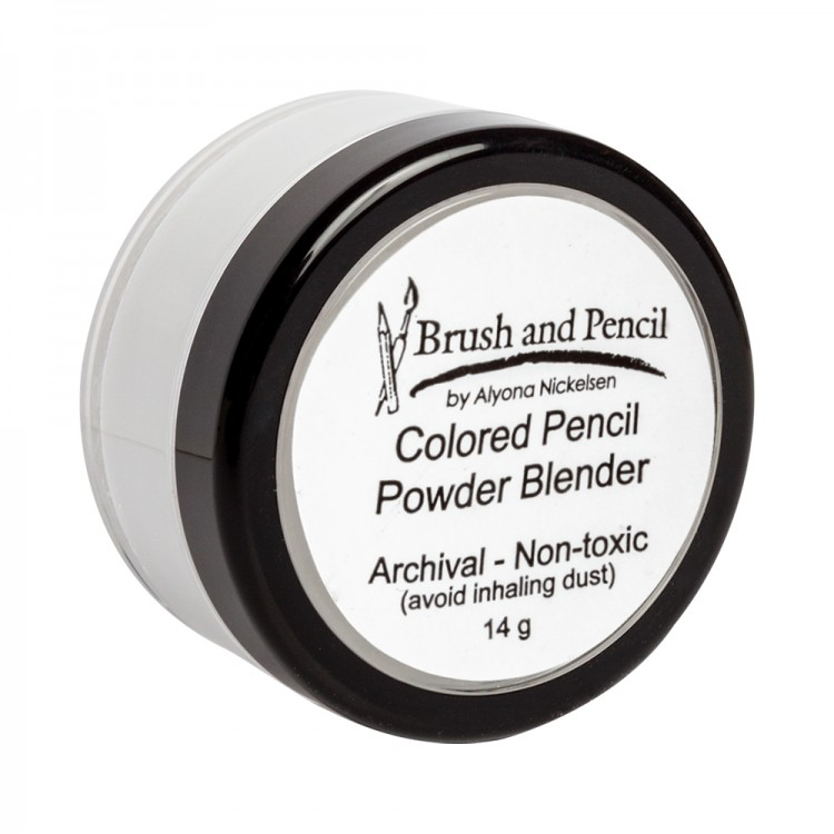 Brush and Pencil : Coloured Pencil Powder Blender : 14g
