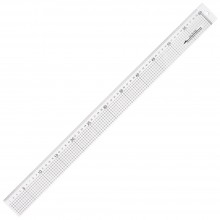 Jakar : Acrylic Ruler With Stainless Steel Edge : 60cm